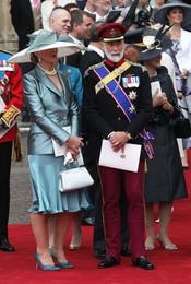 El Príncipe Miguel de Kent asiste a la Boda Real de Inglaterra