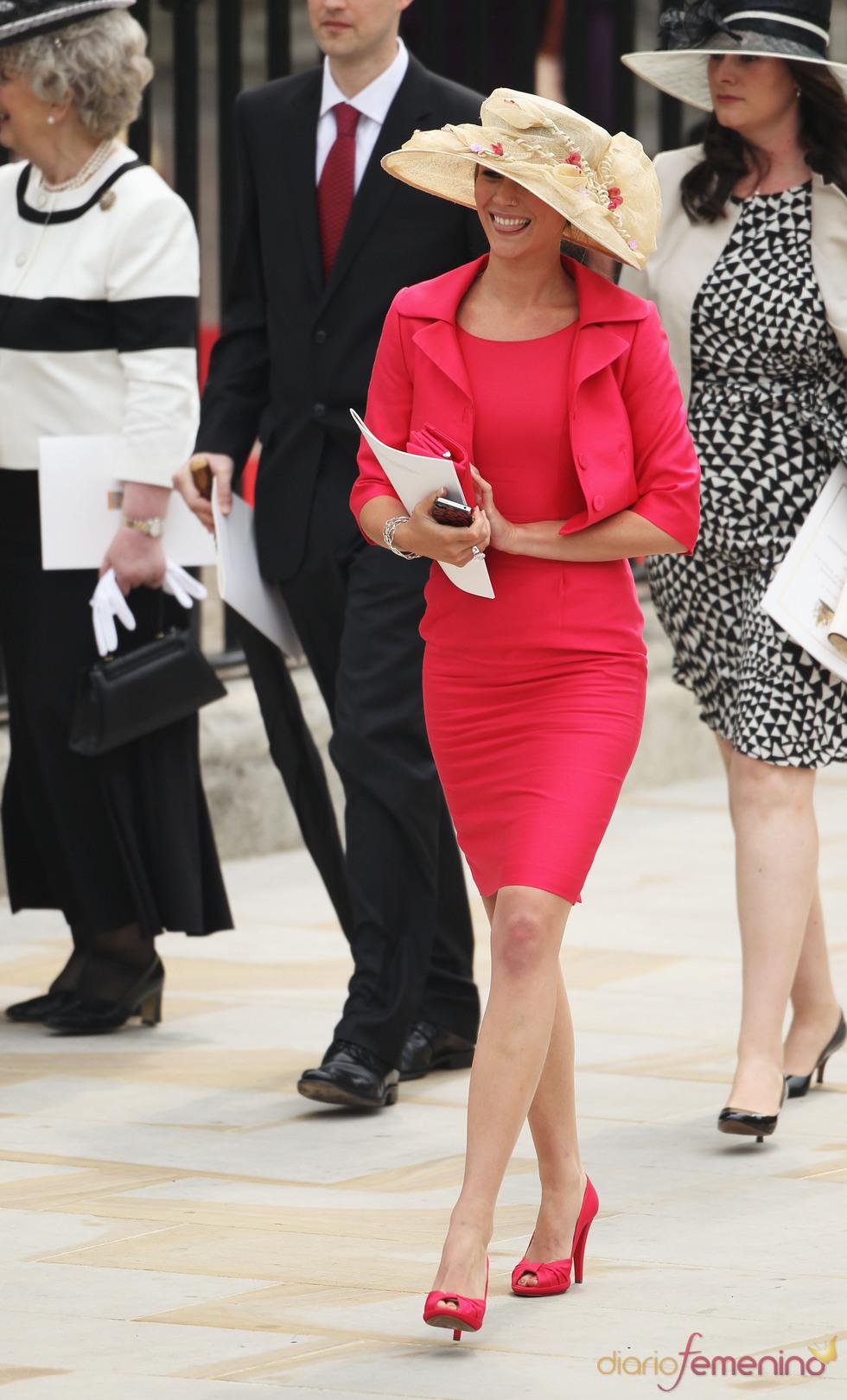 La cantante Joss Stone asiste a la Boda Real de Inglaterra