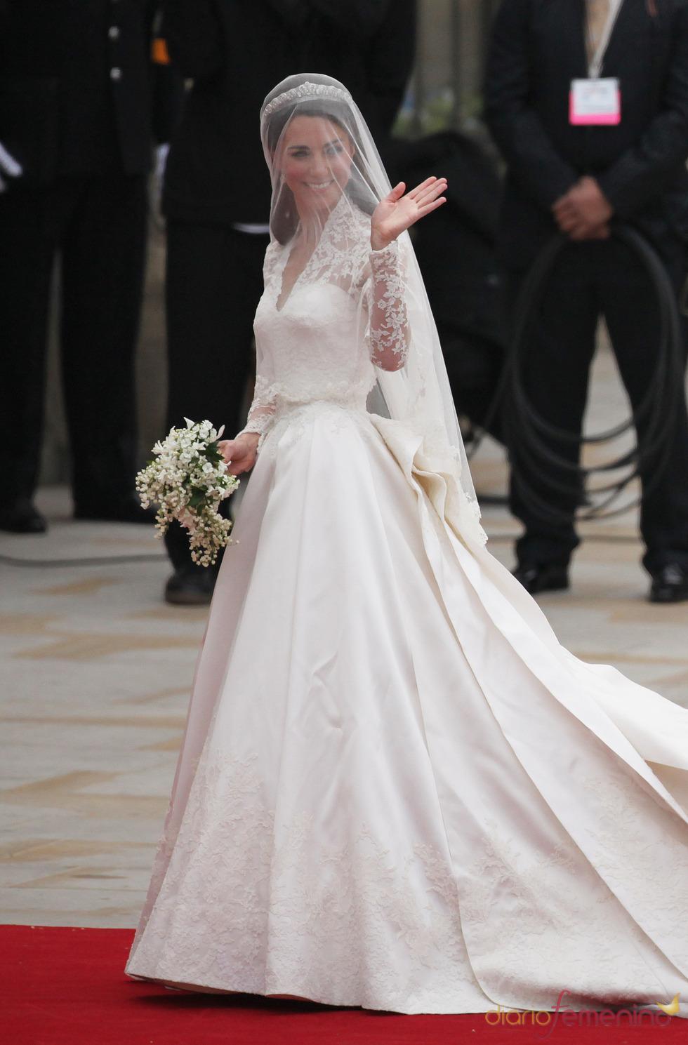 El vestido de novia de Kate Middleton