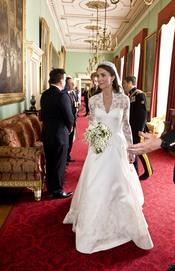 Kate Middleton dentro del Palacio de Buckingham