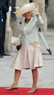 Camilla Parker Bowles en la Boda Real de Inglaterra