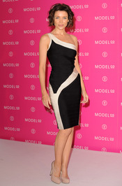 La cantante Dannii Minogue, muy guapa