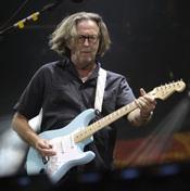 El cantante Eric Clapton en verano de 2010