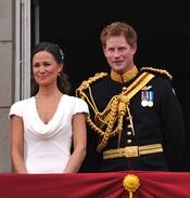 Pippa Middleton y Enrique de Inglaterra, juntos en el balcón de Buckingham Palace