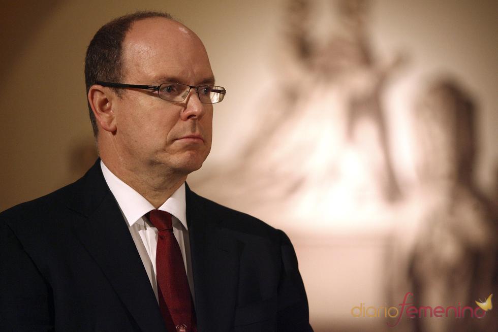 El Príncipe Alberto de Mónaco en evento en abril de 2011