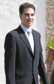 El Príncipe Philippos de Grecia