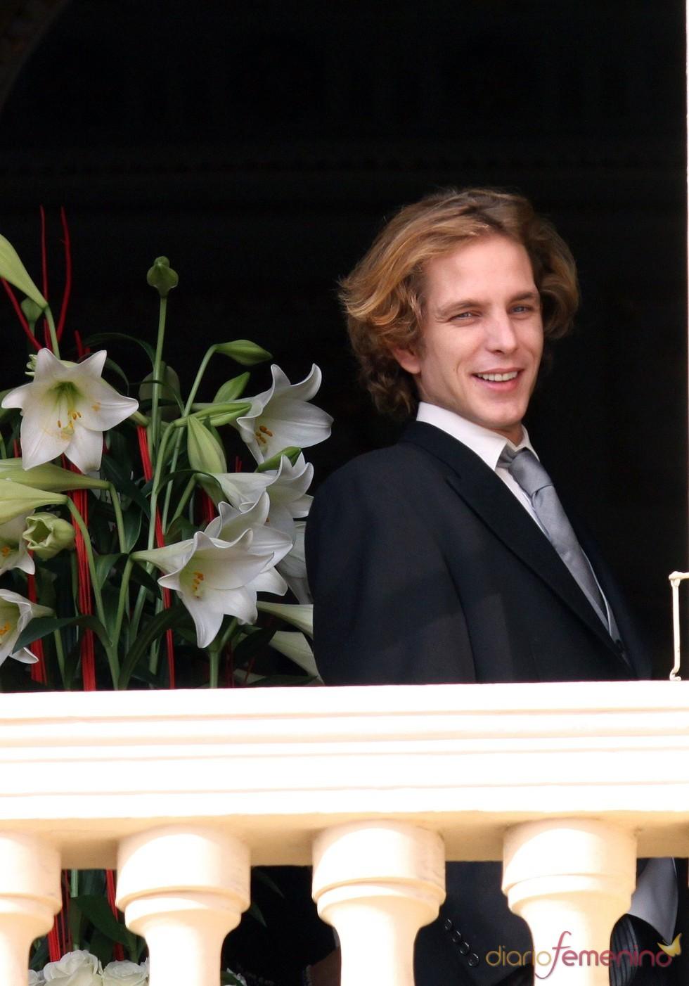 El Príncipe Andrea Casiraghi de Mónaco