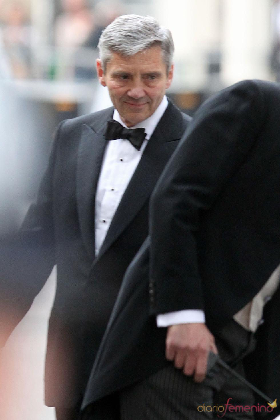 Michael Middleton en la fiesta privada de la Boda Real