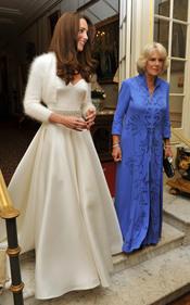 Camilla Parker Bowles y Kate Middleton en la fiesta privada de la Boda Real