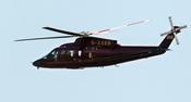 Luna de Miel de Kate y Guillermo: El helicóptero que los recogió