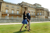 Luna de Miel de Kate y Guillermo: Saliendo del palacio