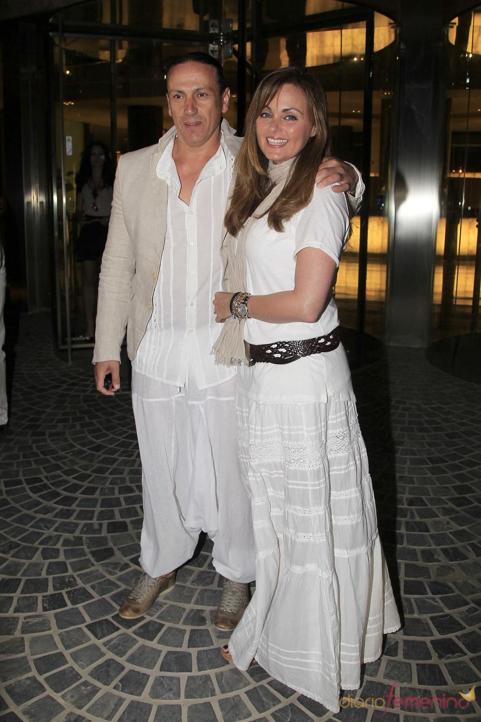 Carmen Morales y Luis Guerra, fiesta ibicenca antes de su boda