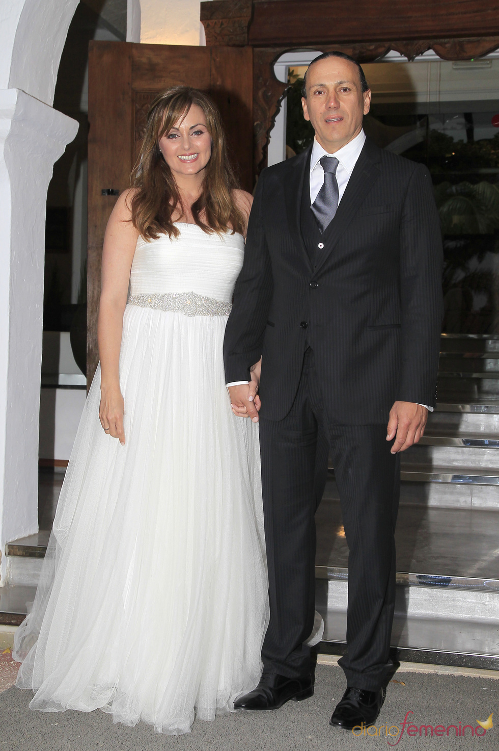 Boda de Carmen Morales y Luis Guerra en Ibiza
