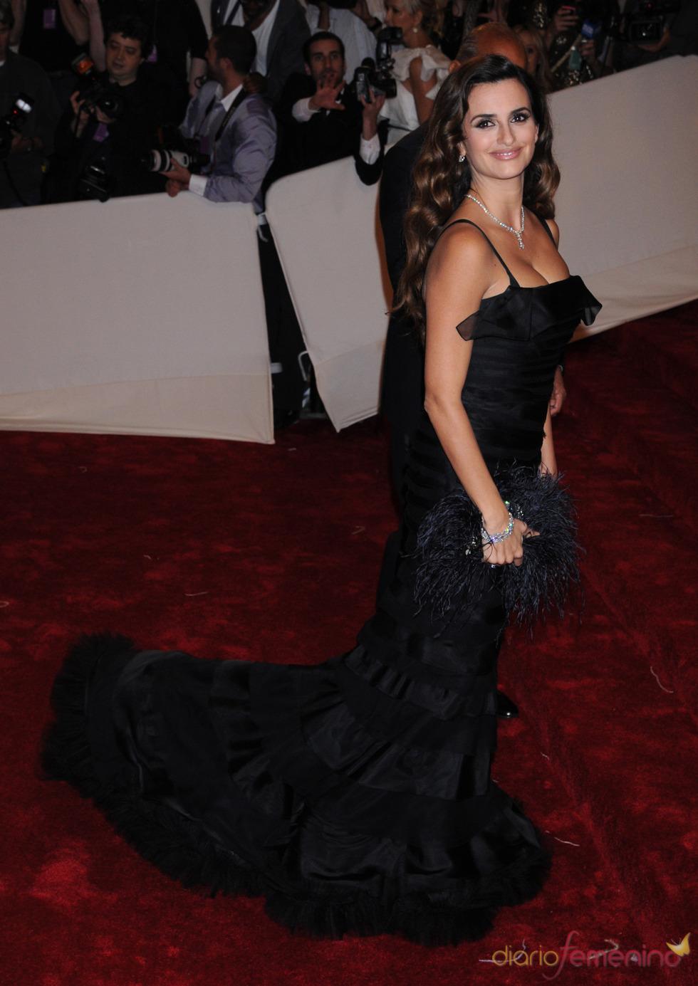 Penélope Cruz en la gala Costume en el Museo Metropolitano de Arte