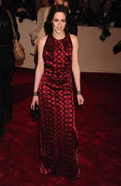 Kristen Stewart en la gala Costume en el Museo Metropolitano de Arte