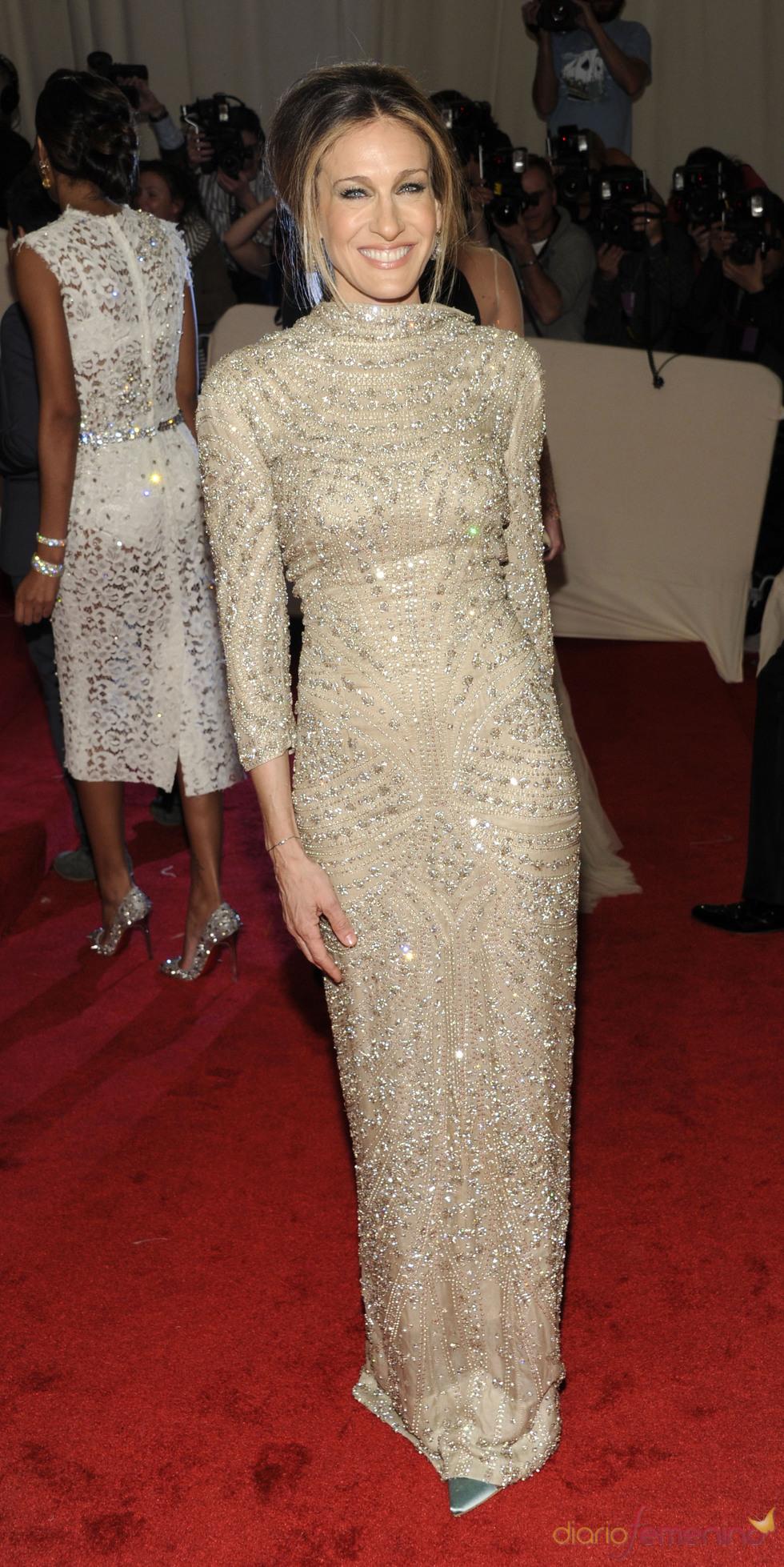 Sarah Jessica Parker en la gala Costume en el Museo Metropolitano de Arte