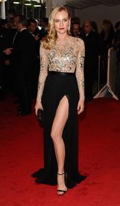 Diane Kruger en la gala Costume en el Museo Metropolitano de Arte
