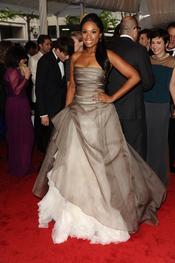 Jennifer Hudson en la gala Costume en el Museo Metropolitano de Arte