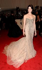 Ashley Greene en la gala Costume en el Museo Metropolitano de Arte