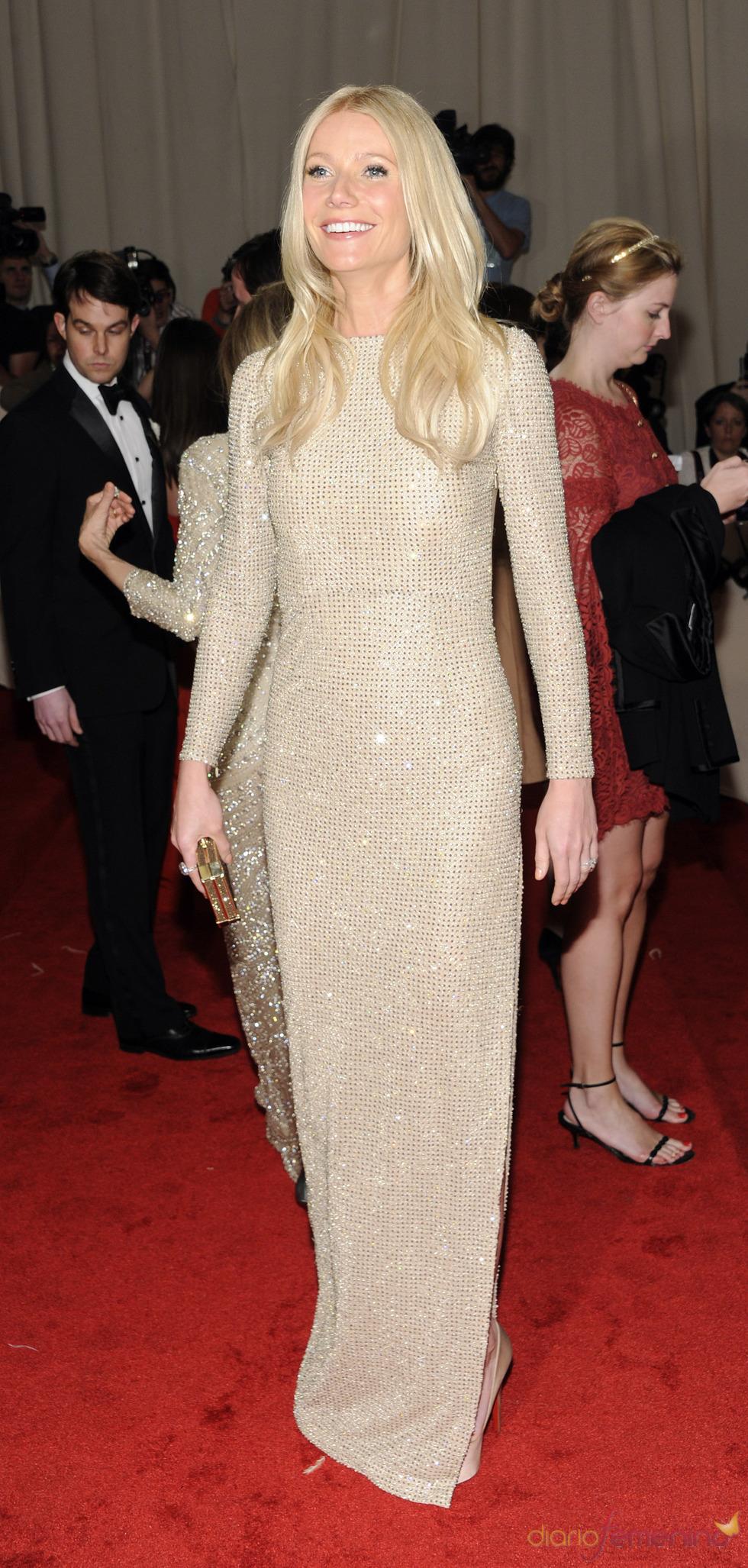 Gwyneth Paltrow en la gala Costume en el Museo Metropolitano de Arte