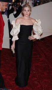 Ashley Olsen en la gala Costume en el Museo Metropolitano de Arte