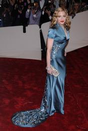 Madonna en la gala Costume en el Museo Metropolitano de Arte