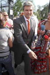 José Antonio Ruiz Espartaco en la Feria de Abril 2011