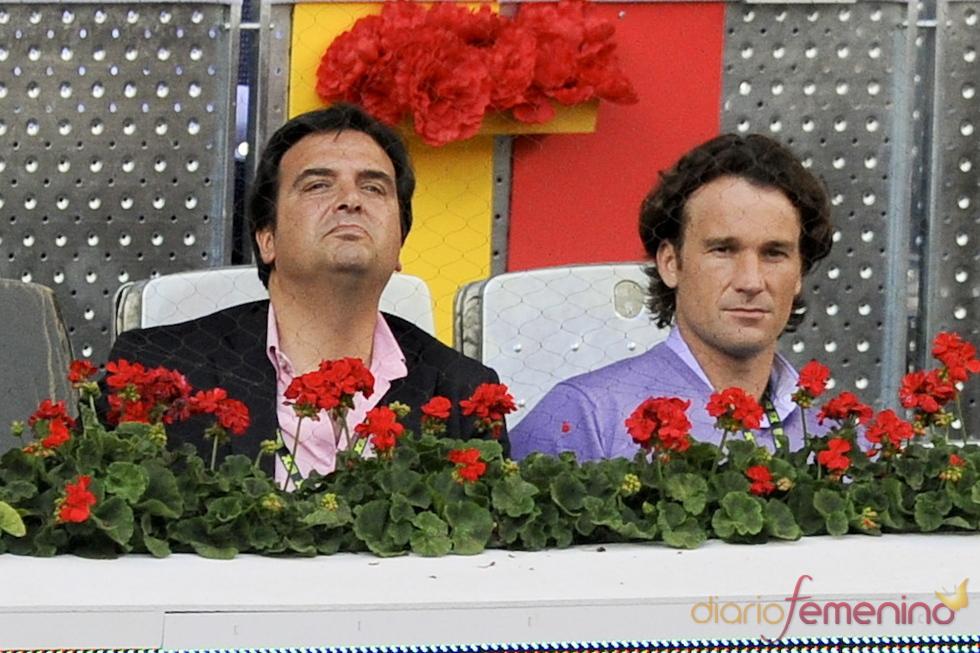 Carlos Moya en la 10 edición del Master Series de Madrid
