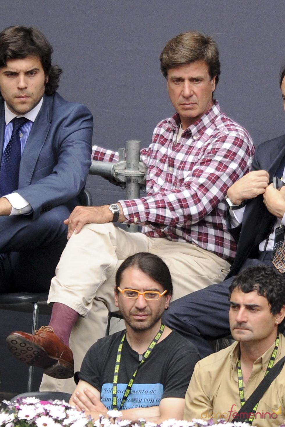Cayetano Martínez de Irujo en la 10 edición del Master Series de Madrid