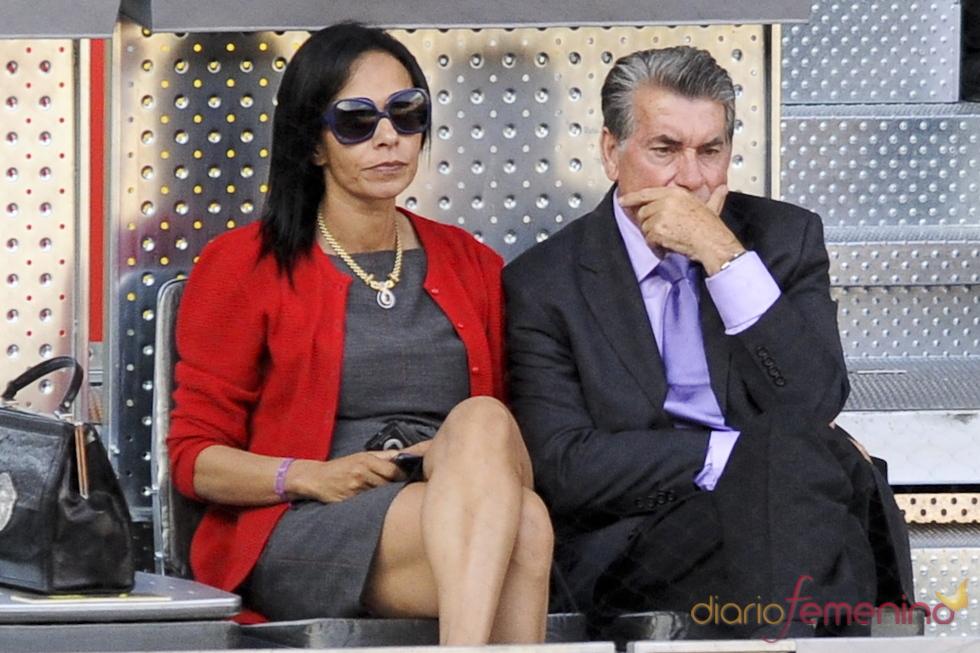 Manolo Santana en la 10 edición del Master Series de Madrid