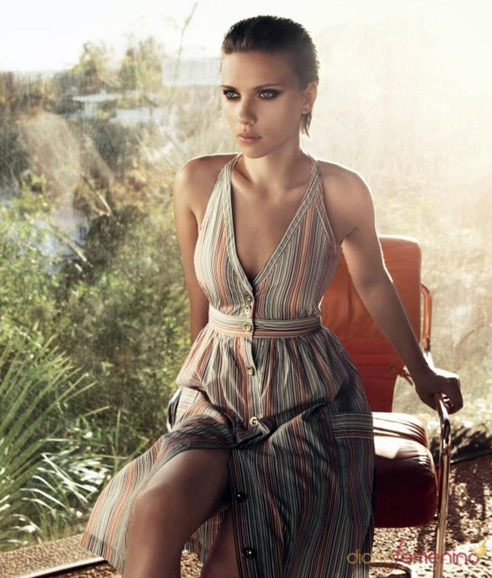 Scarlett Johansson, muy sexy en su última campaña en Mango