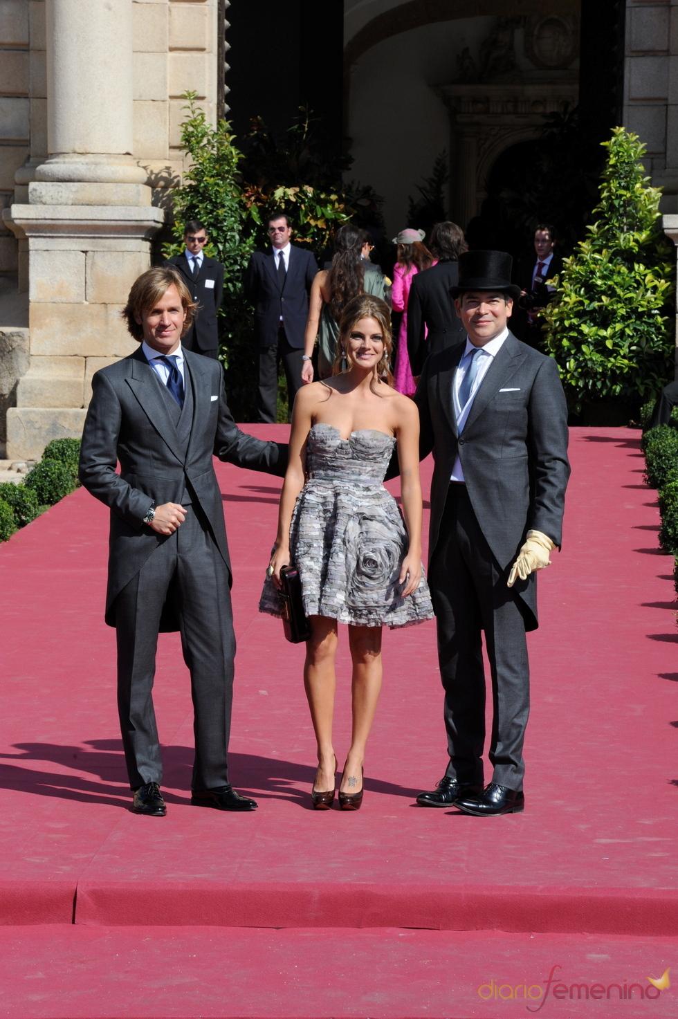 Amaia Salamanca, Rosauro Baro y Boris Izaguirre de boda en Sevilla