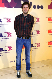 Julián López en la presentación de 'No lo llames amor... llámalo X'