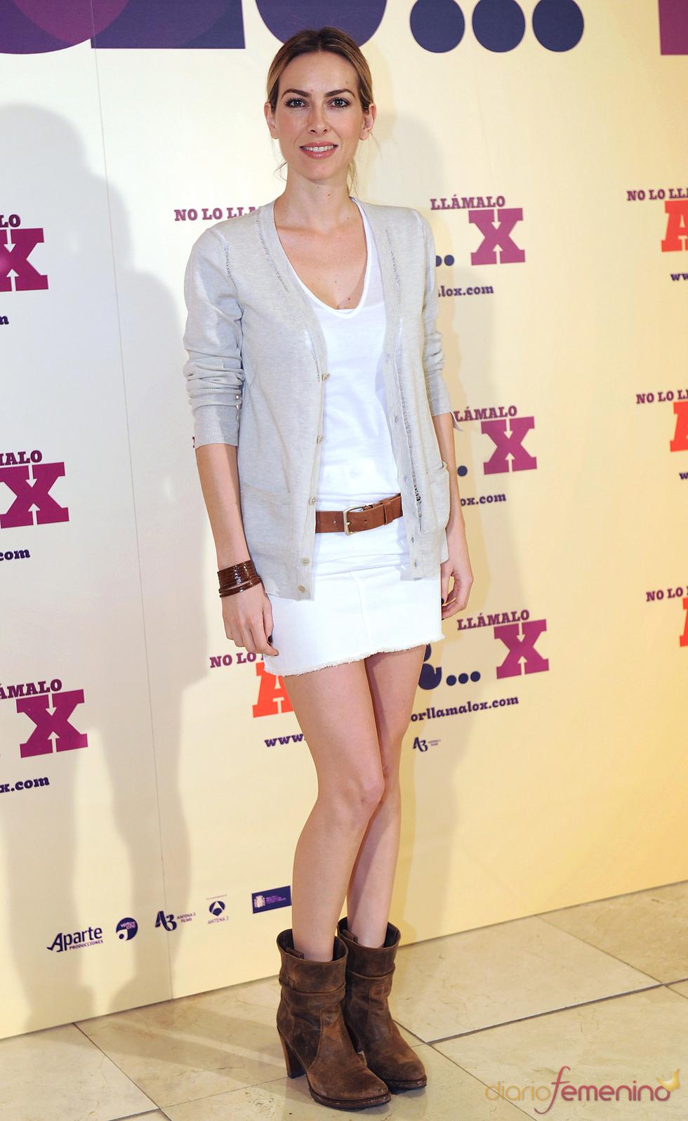 Kira Miró en la presentación de 'No lo llames amor... llámalo X' en Madrid