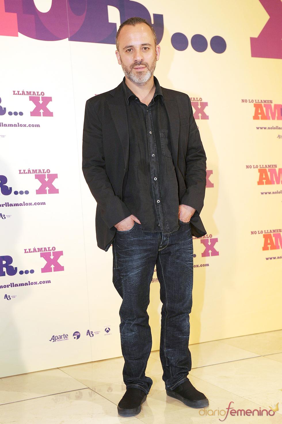 Javier Gutiérrez en la presentación de 'No lo llames amor... llámalo X'