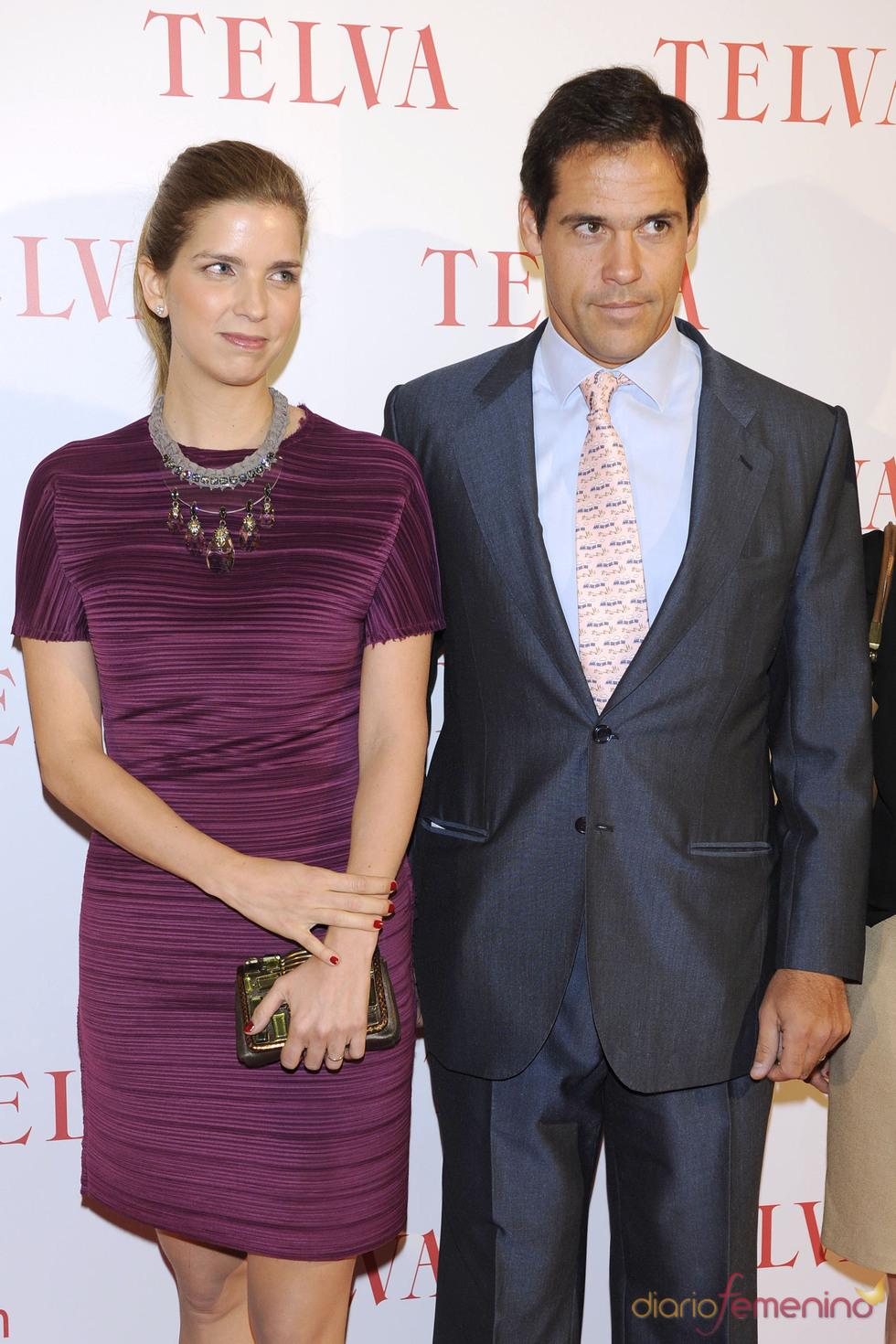 Margarita Vargas y Luis Alfonso de Borbón en los premios Telva Solidaridad 2011