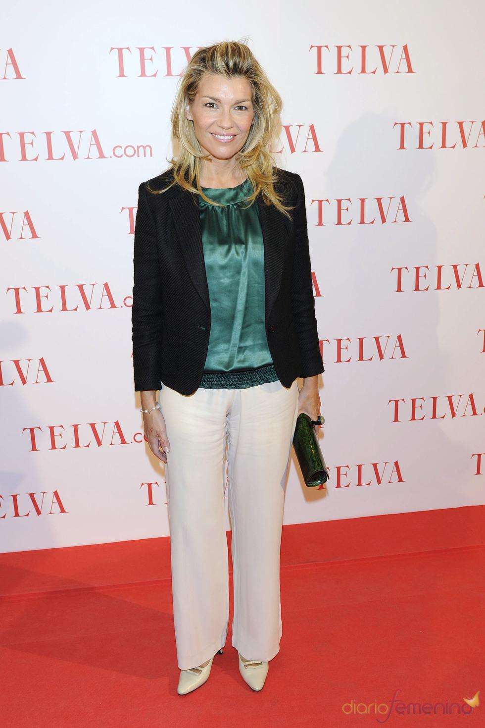 Patricia Rato durante los premios Telva Solidaridad 2011