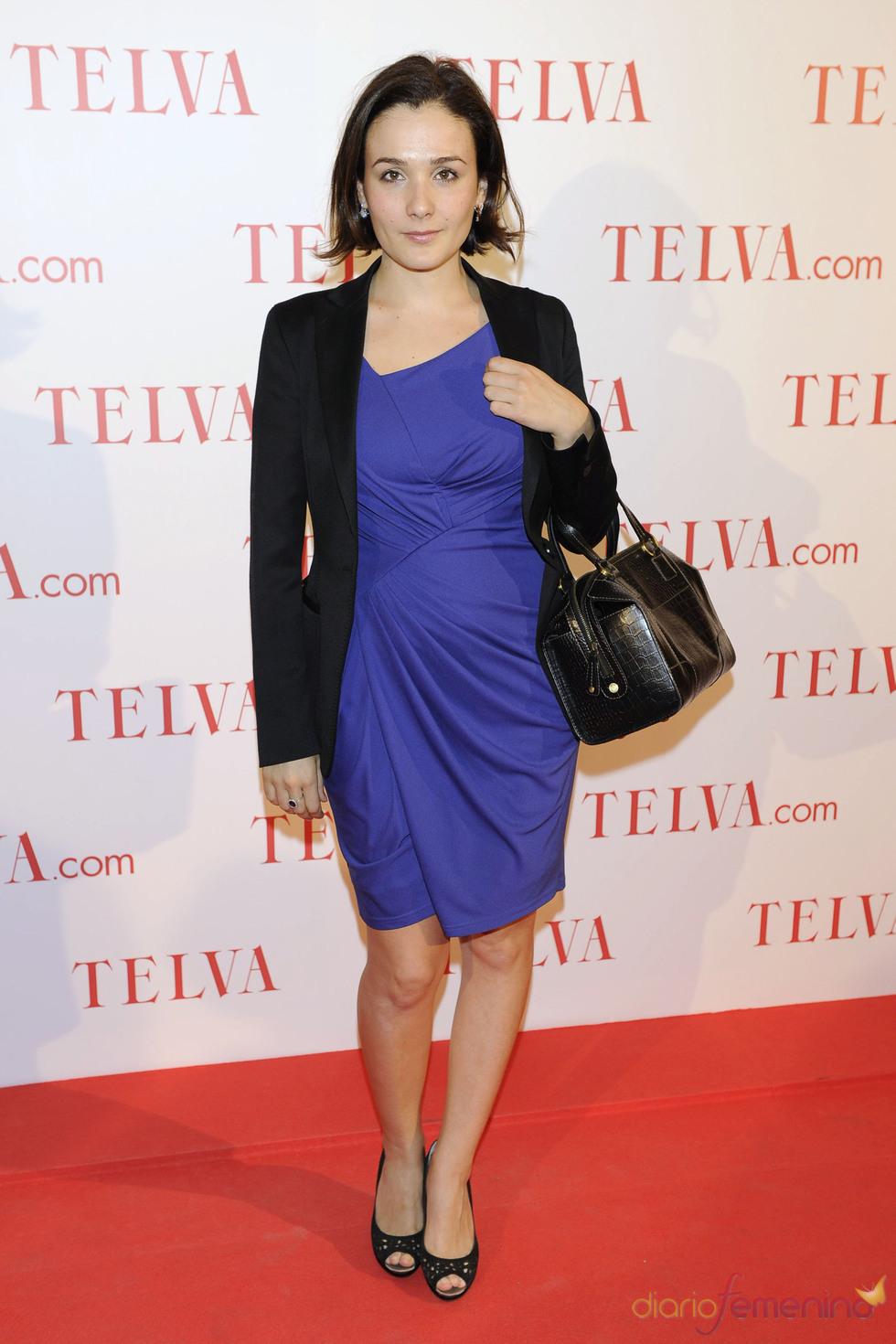 Adriana Domínguez durante los premios Telva Solidaridad 2011