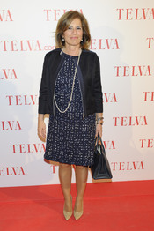 Ana Botella durante los premios Telva Solidaridad 2011