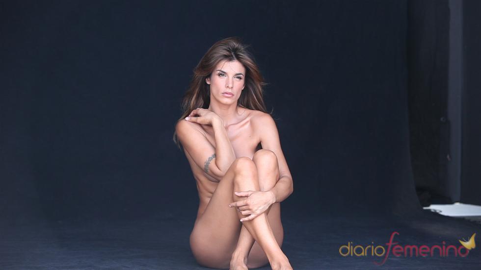 Elisabetta Canalis totalmente desnuda por los derechos de los animales