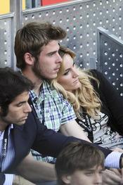 David de Gea y Edurne, dos tortolitos en el Masters Series de Madrid