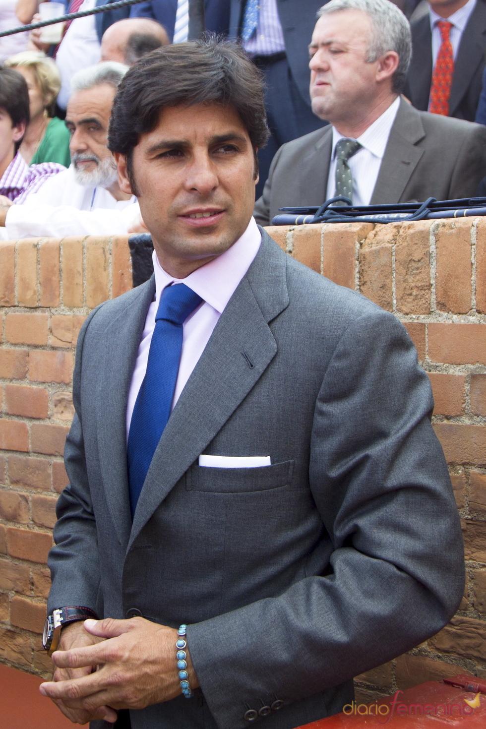 Francisco Rivera apoya a su hermano Cayetano en la Feria de Abril