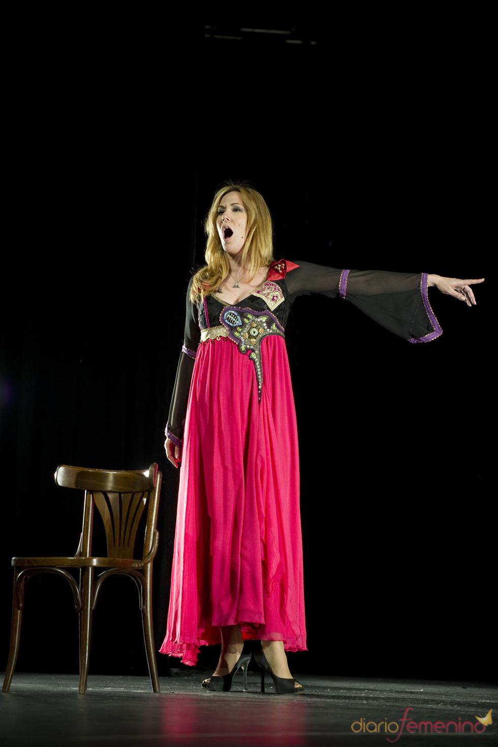 Rosario Mohedano protagoniza 'Copla y tango', su debut