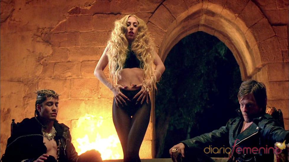 Lady Gaga, de lo más provocativa en el videoclip de 'Judas'