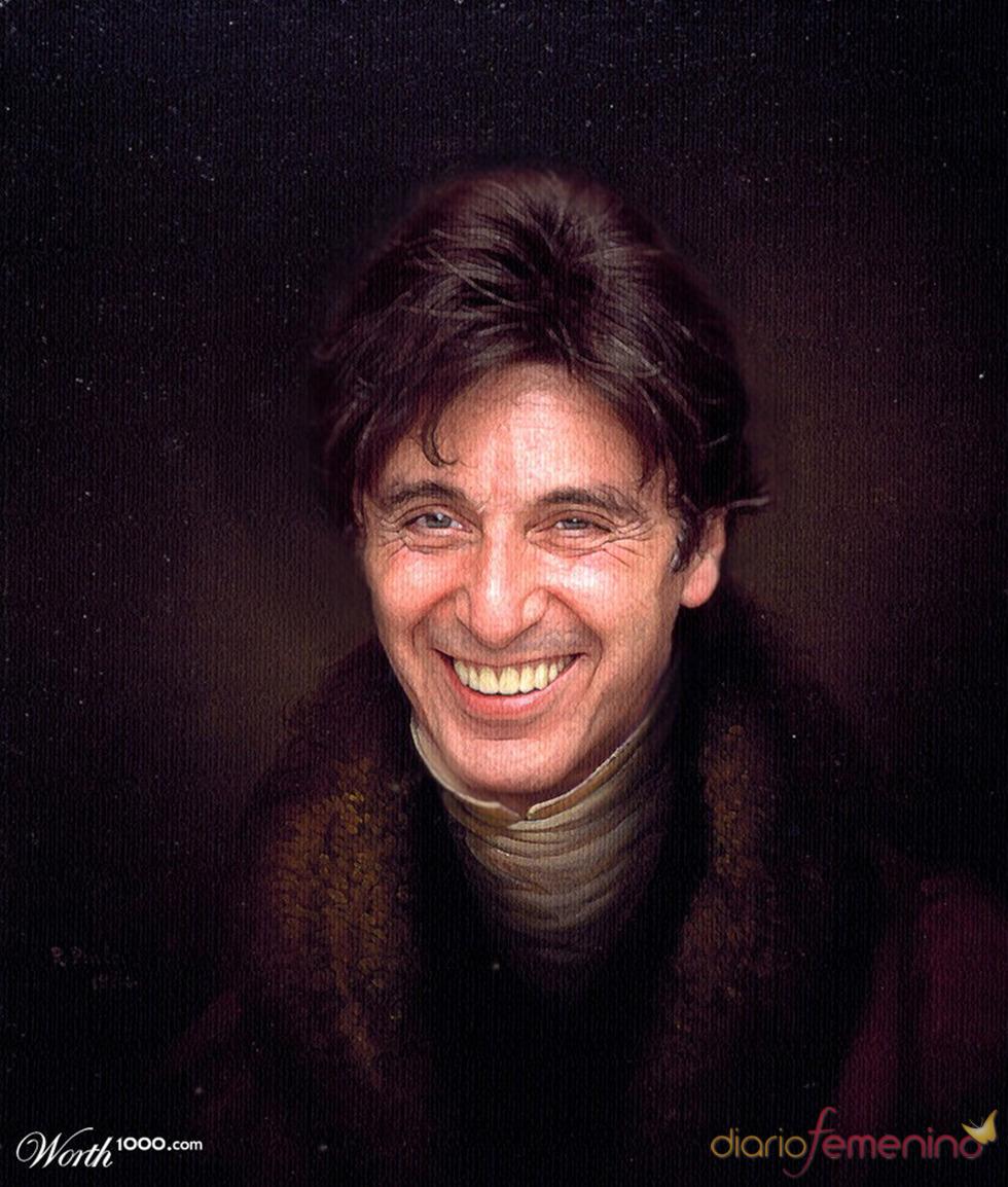 Al Pacino convertido en arte clásico en Woth1000.com