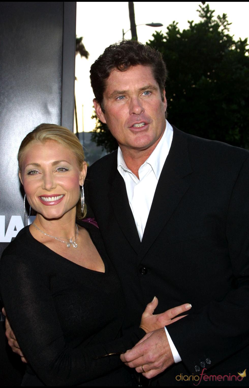 David Hasselhoff y su mujer Pamela Bach