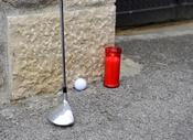 Homenaje al golf de Severiano Ballesteros en Pedreña, su pueblo natal
