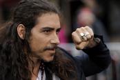 Óscar Jaenada en la premier de 'Piratas del Caribe 4' en Disneyland