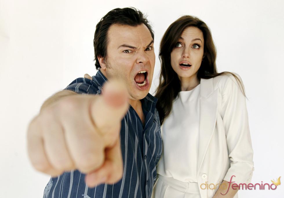 Angelina Jolie y Jack Black son las voces de 'Kung Fu Panda 2'