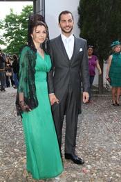 Antonio Tejado llega nervioso a su boda en Sevilla
